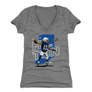 T.Y. Hilton Women's V-Neck T-Shirt | 500 LEVEL