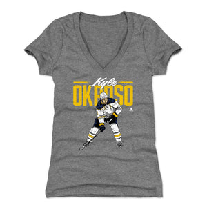 Kyle Okposo Women's V-Neck T-Shirt | 500 LEVEL