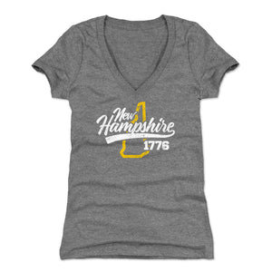 New Hampshire Women's V-Neck T-Shirt | 500 LEVEL