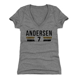 Morten Andersen Women's V-Neck T-Shirt | 500 LEVEL