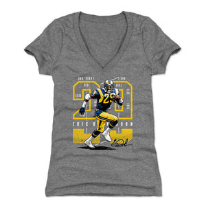 Eric Dickerson Women's V-Neck T-Shirt | 500 LEVEL