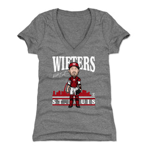 Matt Wieters Women's V-Neck T-Shirt | 500 LEVEL