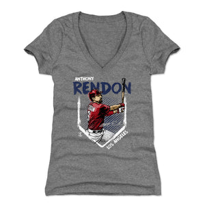 Anthony Rendon Women's V-Neck T-Shirt | 500 LEVEL
