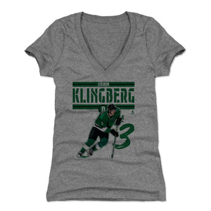 John Klingberg Women's V-Neck T-Shirt | 500 LEVEL