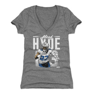Micah Hyde Women's V-Neck T-Shirt | 500 LEVEL