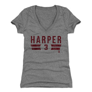 Bryce Harper Women's V-Neck T-Shirt | 500 LEVEL