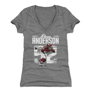 Ryan Anderson Women's V-Neck T-Shirt | 500 LEVEL