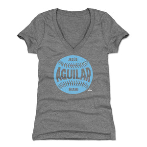 Jesus Aguilar Women's V-Neck T-Shirt | 500 LEVEL