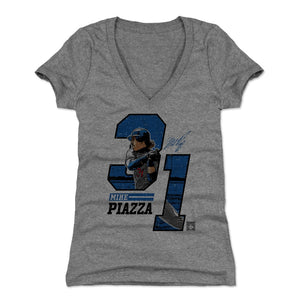 Mike Piazza Women's V-Neck T-Shirt | 500 LEVEL