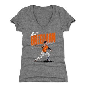 Alex Bregman Women's V-Neck T-Shirt | 500 LEVEL