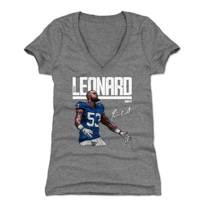 Darius Leonard Women's V-Neck T-Shirt | 500 LEVEL