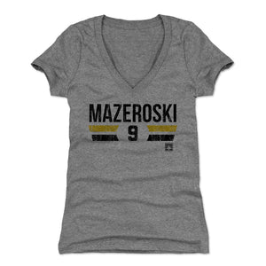 Bill Mazeroski Women's V-Neck T-Shirt | 500 LEVEL