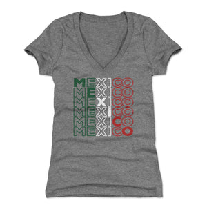 Mexico Women's V-Neck T-Shirt | 500 LEVEL