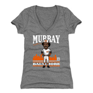 Eddie Murray Women's V-Neck T-Shirt | 500 LEVEL