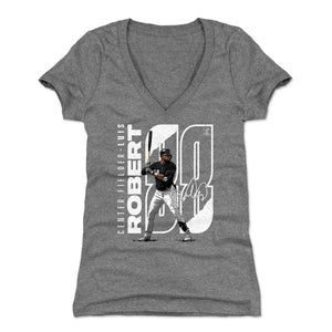 Luis Robert Women's V-Neck T-Shirt | 500 LEVEL