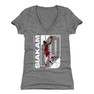 Pascal Siakam Women's V-Neck T-Shirt | 500 LEVEL