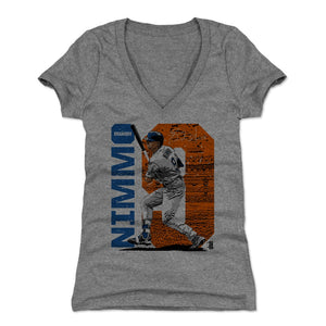 Brandon Nimmo Women's V-Neck T-Shirt | 500 LEVEL