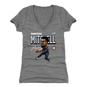 Donovan Mitchell Women's V-Neck T-Shirt | 500 LEVEL