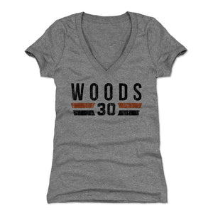 Ickey Woods Women's V-Neck T-Shirt | 500 LEVEL