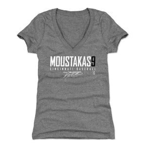 Mike Moustakas Women's V-Neck T-Shirt | 500 LEVEL