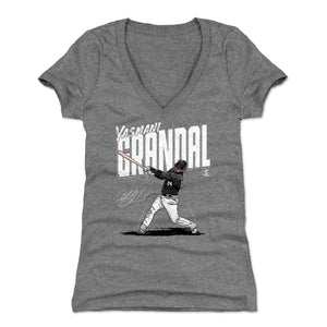 Yasmani Grandal Women's V-Neck T-Shirt | 500 LEVEL