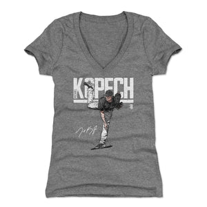 Michael Kopech Women's V-Neck T-Shirt | 500 LEVEL