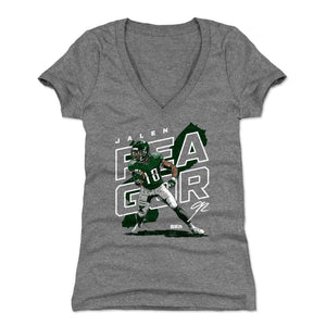 Jalen Reagor Women's V-Neck T-Shirt | 500 LEVEL