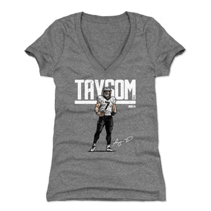 Taysom Hill Women's V-Neck T-Shirt | 500 LEVEL