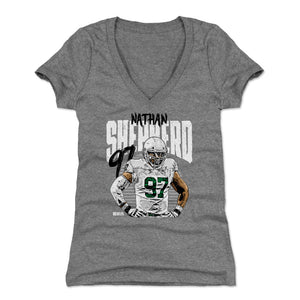 Nathan Shepherd Women's V-Neck T-Shirt | 500 LEVEL