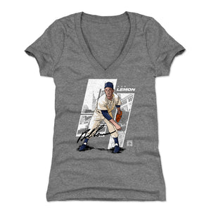 Bob Lemon Women's V-Neck T-Shirt | 500 LEVEL