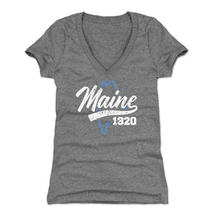Maine Women's V-Neck T-Shirt | 500 LEVEL