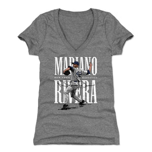 Mariano Rivera Women's V-Neck T-Shirt | 500 LEVEL