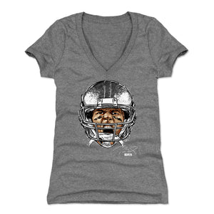 Tom Brady Women's V-Neck T-Shirt | 500 LEVEL
