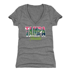 Tampa Women's V-Neck T-Shirt | 500 LEVEL