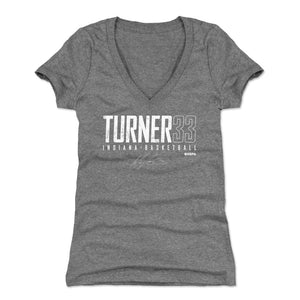Myles Turner Women's V-Neck T-Shirt | 500 LEVEL