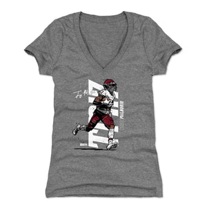 Terry McLaurin Women's V-Neck T-Shirt | 500 LEVEL
