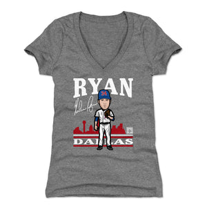 Nolan Ryan Women's V-Neck T-Shirt | 500 LEVEL
