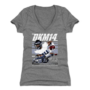 D.K. Metcalf Women's V-Neck T-Shirt | 500 LEVEL