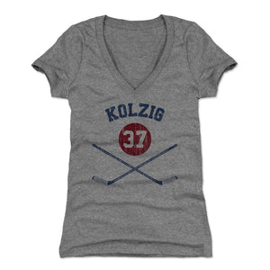 Olie Kolzig Women's V-Neck T-Shirt | 500 LEVEL