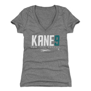 Evander Kane Women's V-Neck T-Shirt | 500 LEVEL