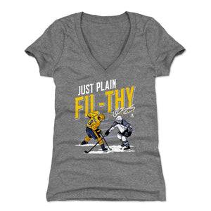 Filip Forsberg Women's V-Neck T-Shirt | 500 LEVEL