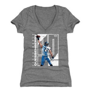 David Quessenberry Women's V-Neck T-Shirt | 500 LEVEL