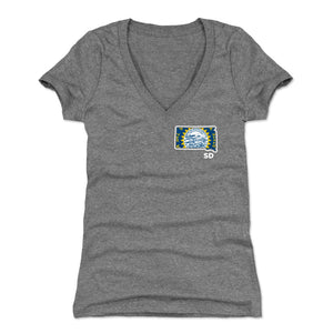 South Dakota Women's V-Neck T-Shirt | 500 LEVEL