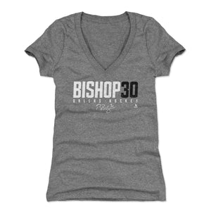 Ben Bishop Women's V-Neck T-Shirt | 500 LEVEL