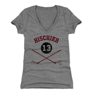 Nico Hischier Women's V-Neck T-Shirt | 500 LEVEL