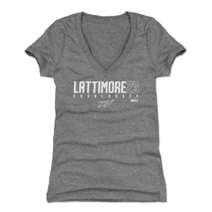 Marshon Lattimore Women's V-Neck T-Shirt | 500 LEVEL