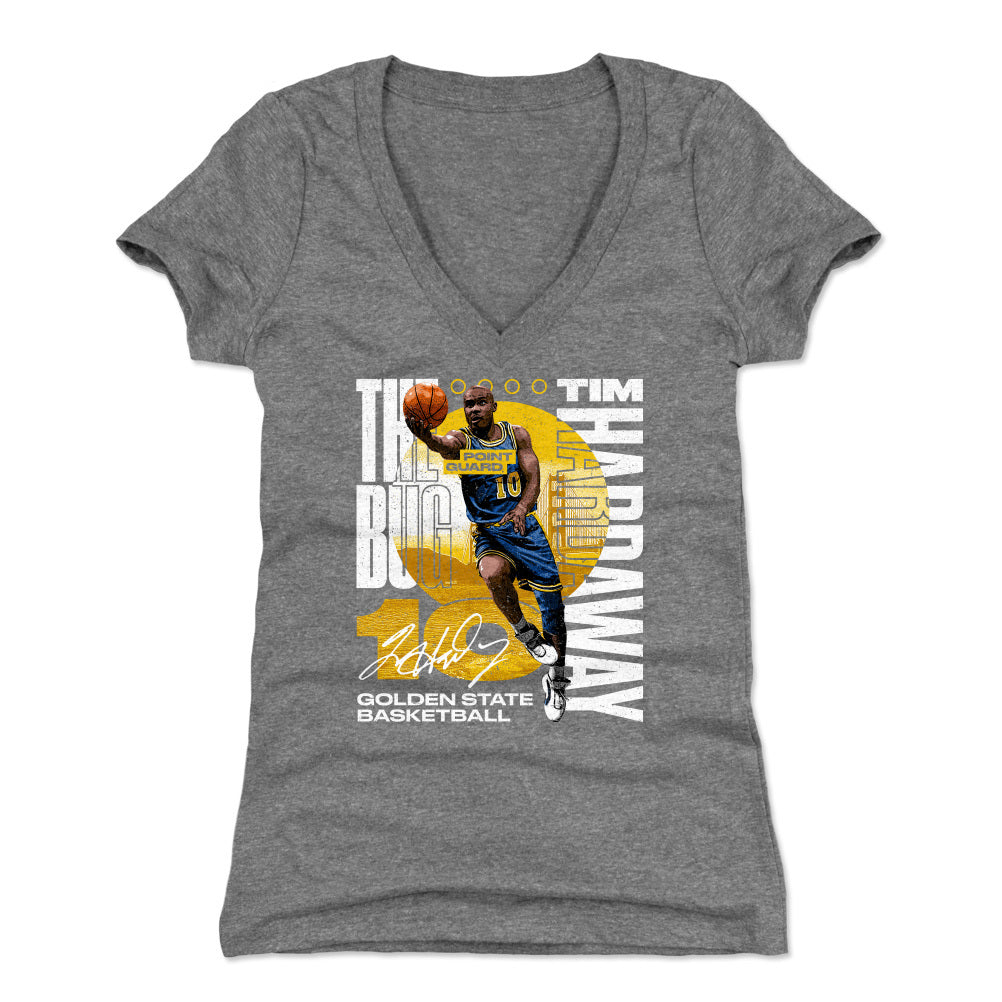 Tim Hardaway Women's V-Neck T-Shirt | 500 LEVEL