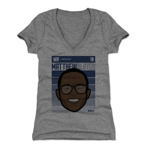 Matthew Slater Women's V-Neck T-Shirt | 500 LEVEL
