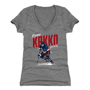 Kaapo Kakko Women's V-Neck T-Shirt | 500 LEVEL