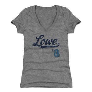 Brandon Lowe Women's V-Neck T-Shirt | 500 LEVEL